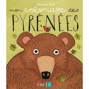 Mon coloriage des Pyrénées