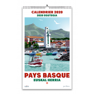 Calendrier 2020 Pays basque