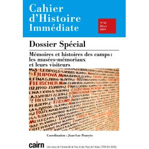 CAHIER D'HISTOIRE IMMEDIATE N°53
