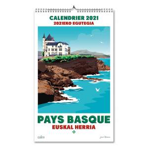 Calendrier 2021 Pays Basque