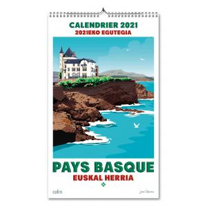 Calendrier 2021 Pays Basque