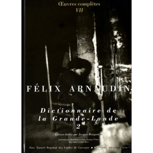 Félix Arnaudin - Dictionnaire de la Grande-Lande Tome 2