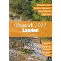 Couverture de l'Almanach 2022 Landes de Jean-Jacques Taillentou aux éditions Cairn