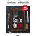 Couverture du polar gourmand « Sauce de pire » par Ludovic Bouquin