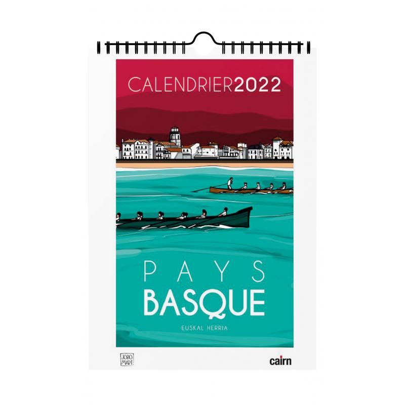 Calendrier Actualisation 2022 Calendrier Pays basque 2022 par Jobomart
