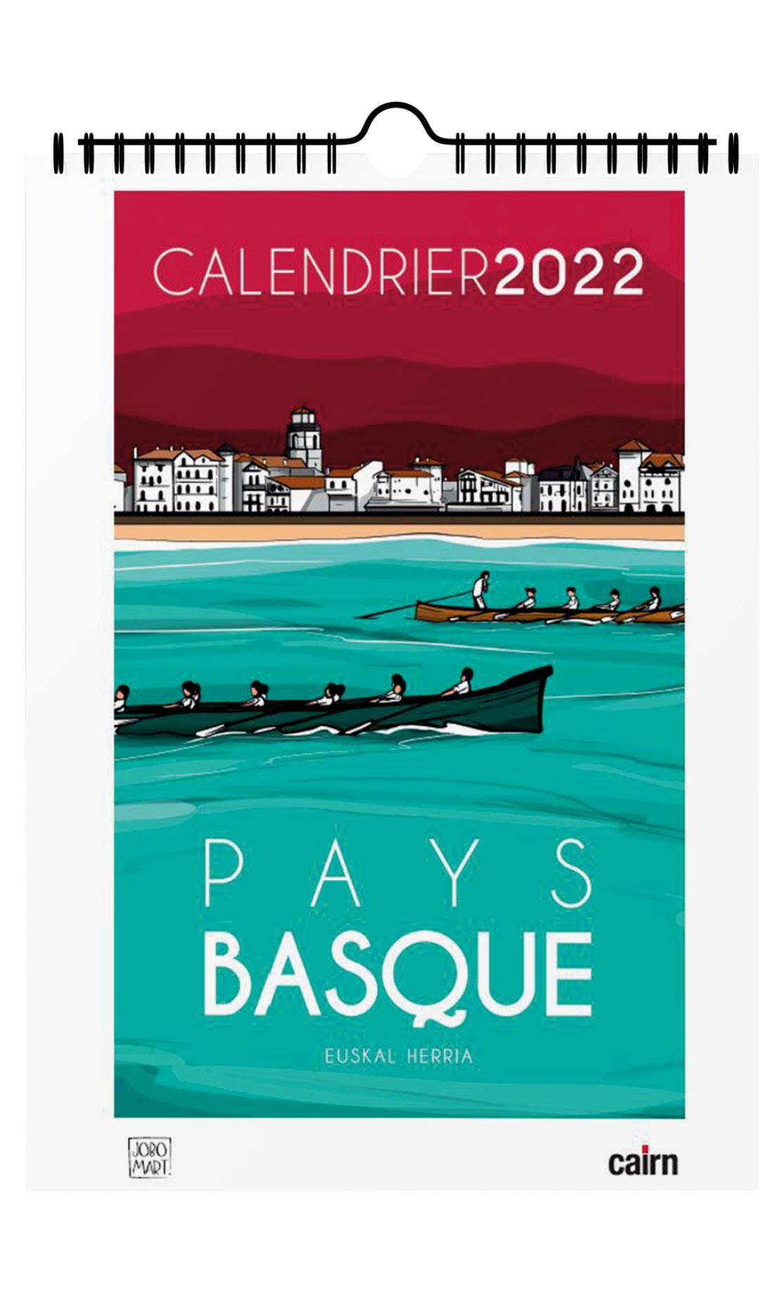 Calendrier Des Payes 2022 Calendrier Pays basque 2022 par Jobomart