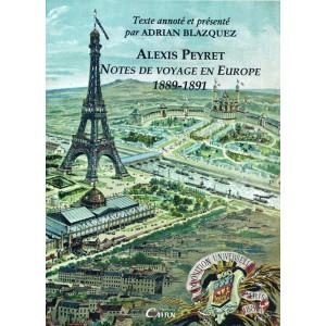 Alexis Peyret, séjour Europe, émigration basque et béarnaise, XIXème