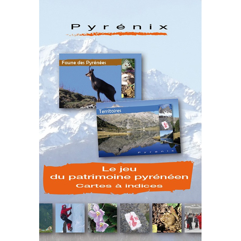 PYRENIX, jeu de cartes Pyrénéen