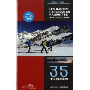 Les Hautes Pyrénées en raquettes, Aure, Louron et Adour  35 itin