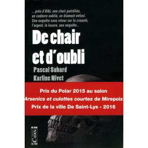 De chair et d'oubli, roman policier à Albi Occitanie