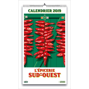 Calendrier 2019 Pays basque, Béarn, Landes