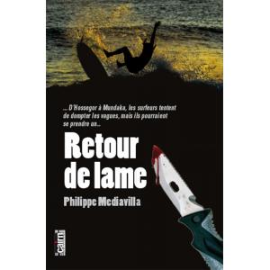 Retour de lame roman policier pays basque hossegor