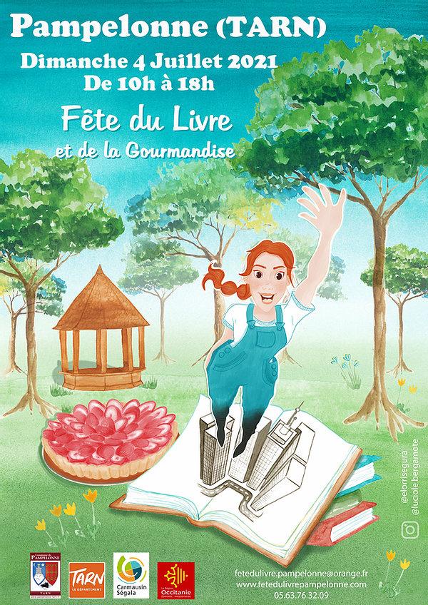 Fête du Livre et de la Gourmandise de Pampelonne le 04 juillet 2021 !