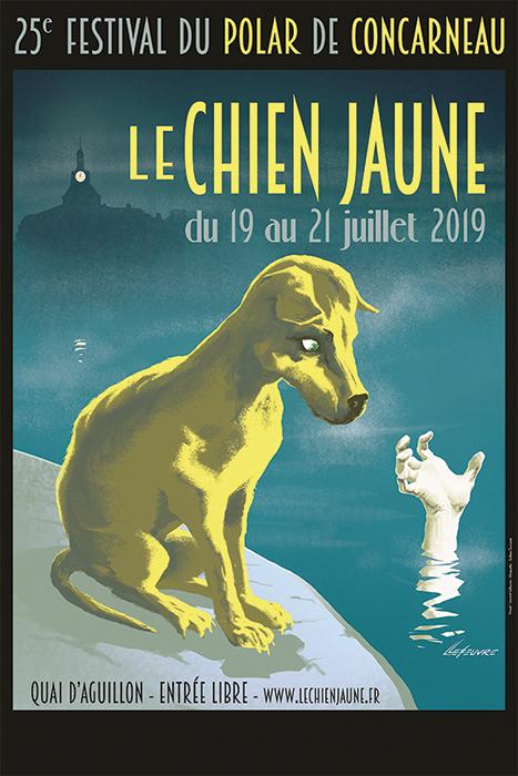 Festival du chien jaune à Concarneau